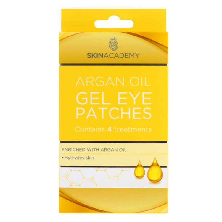 SKIN ACADEMY Argan Oil Gel Eye Patches