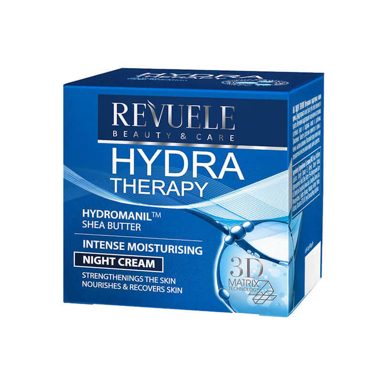 REVUELE Hydra Therapy Intense Moisturising Night Cream