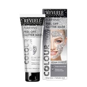 REVUELE Regenerating Peel Off Glitter Mask Silver