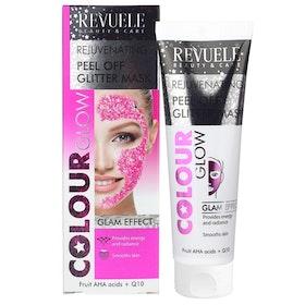 REVUELE Regenerating Peel Off Glitter Mask Pink
