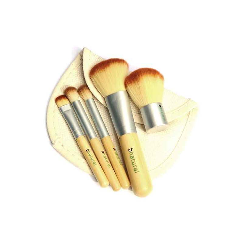 Makeup-penslar 5-pack bambu bnatural