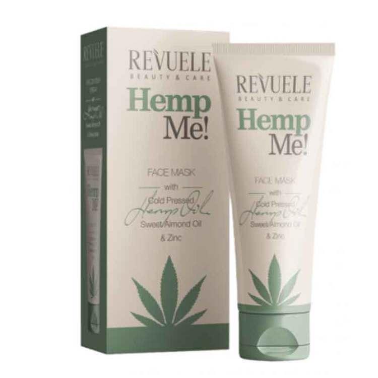 REVUELE Hemp Me Face Mask With Hemp Seed Oil