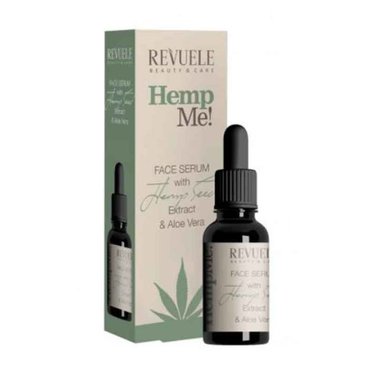 REVUELE Hemp Me Face Serum With Hemp Seed Oil