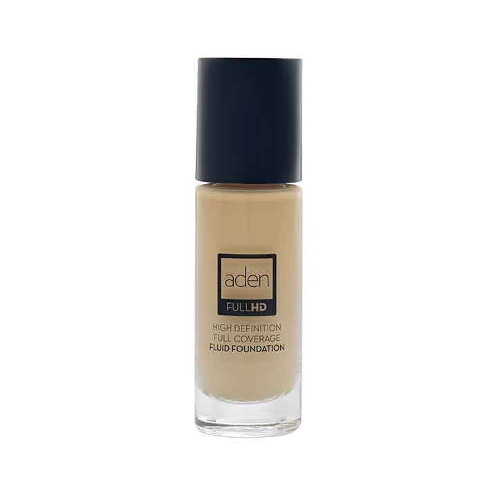 Aden Full HD Fluid Foundation 04 Natural