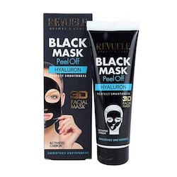 REVUELE Black Mask 3D Facial Peel Off HYALURON