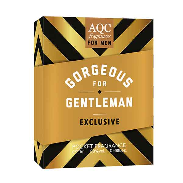 AQC Fragrances Gorgeous Gentleman Exclusive Pocket