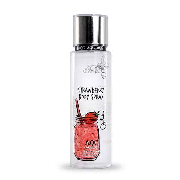 AQC Fragrances Strawberry Body Spray 200 ml