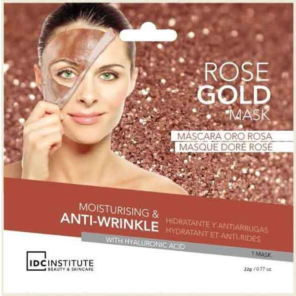 IDC INSTITUTE Rose Gold Mask Moisturising & Anti-Wrinkle