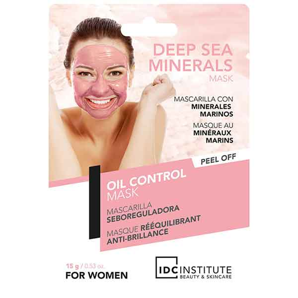 IDC INSTITUTE Peel Off Mask with Deep Sea Minerals Oil Control