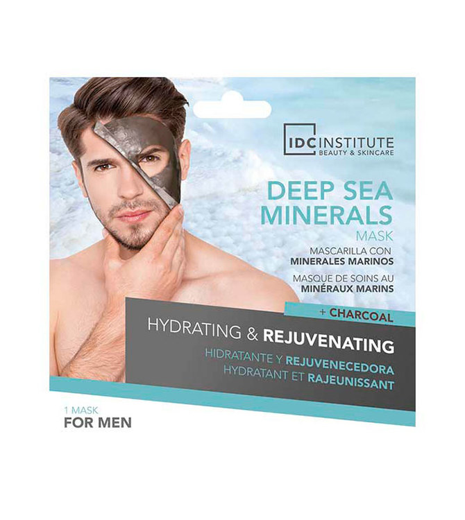 IDC INSTITUTE Peel Off Mask Deep Sea Minerals Hydrating & Rejuvenating for Men