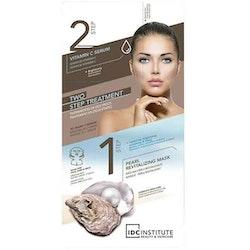 IDC INSTITUTE 2 Step Treatment 3D Mask-Serum Pearl & Vitamin C