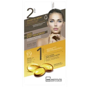 IDC INSTITUTE 2 Step Treatment 3D Mask-Serum Jojoba Oil & Collagen Anti-Aging