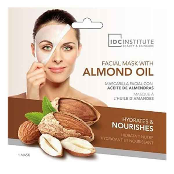 IDC INSTITUTE Facial Mask With Almond Oil Hydrates & Nourishes