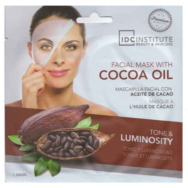 IDC INSTITUTE Facial Mask With Cocoa Oil Tone & Luminosity