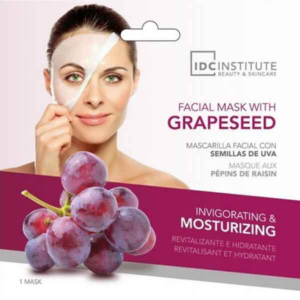 IDC INSTITUTE Facial Mask With Grapeseed Invigorating & Moisturizing
