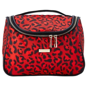 Hängnecessär Savannah red & black leopard JJDK