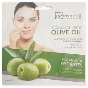 IDC INSTITUTE Facial Mask With Olive Oil Nourishes & Hydrates
