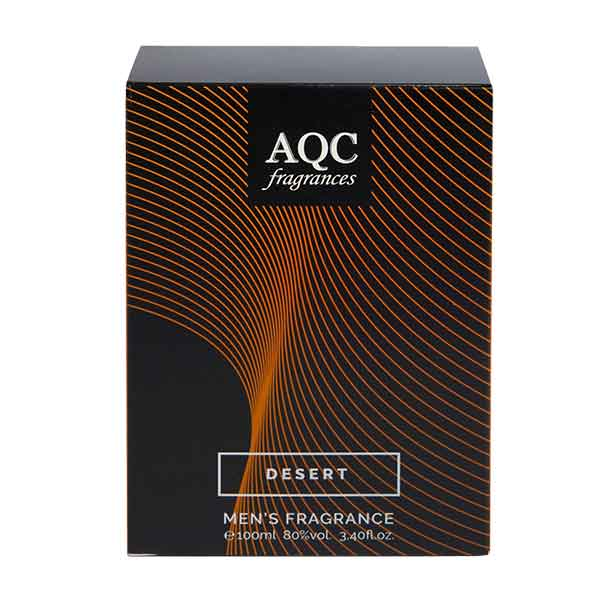 AQC Fragrances Desert Men´s Fragrance