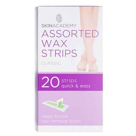 SKIN ACADEMY Assorted Wax Strips