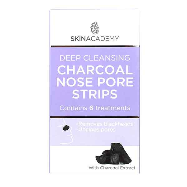 SKIN ACADEMY Deep Cleansing Charcoal Nose Pore Strips