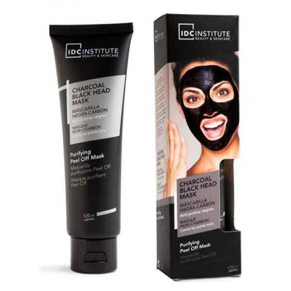 IDC INSTITUTE Charcoal Black Head Mask Peel off 120 ml