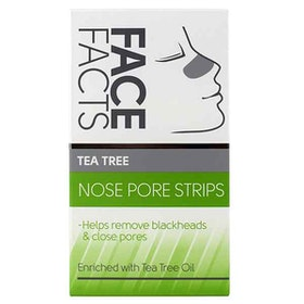 FACE FACTS Tea Tree Nose Pore Strips