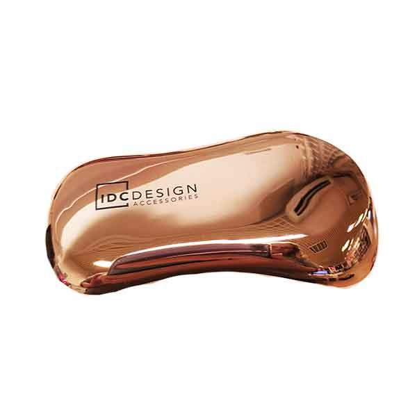 IDC DESIGN Metallic Hair Brush brons
