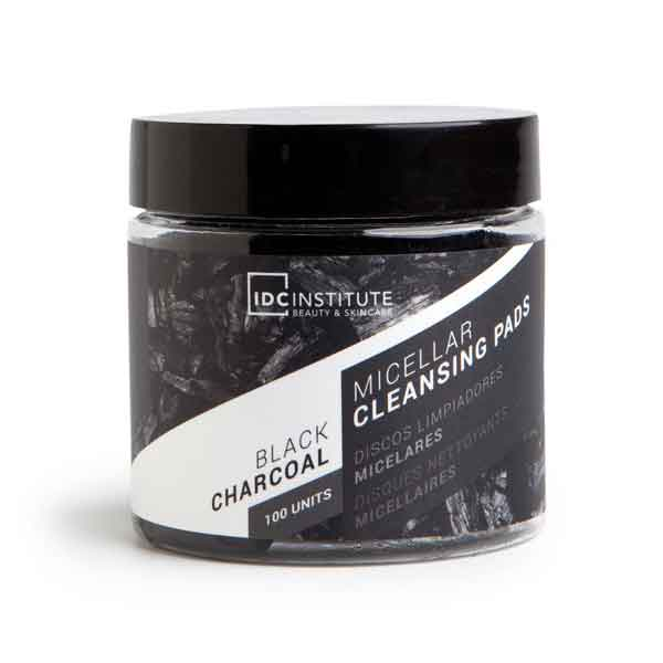 IDC INSTITUTE Black Charcoal Micellar Cleansing Pads