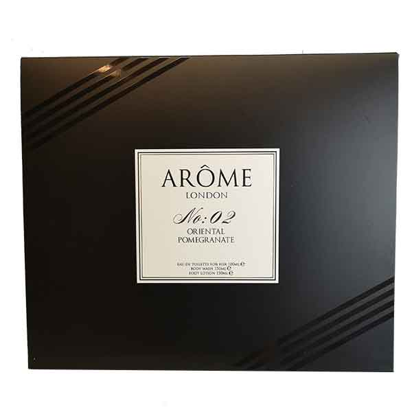 Arome London No:02 Oriental Pomegranate edt Gift Pack
