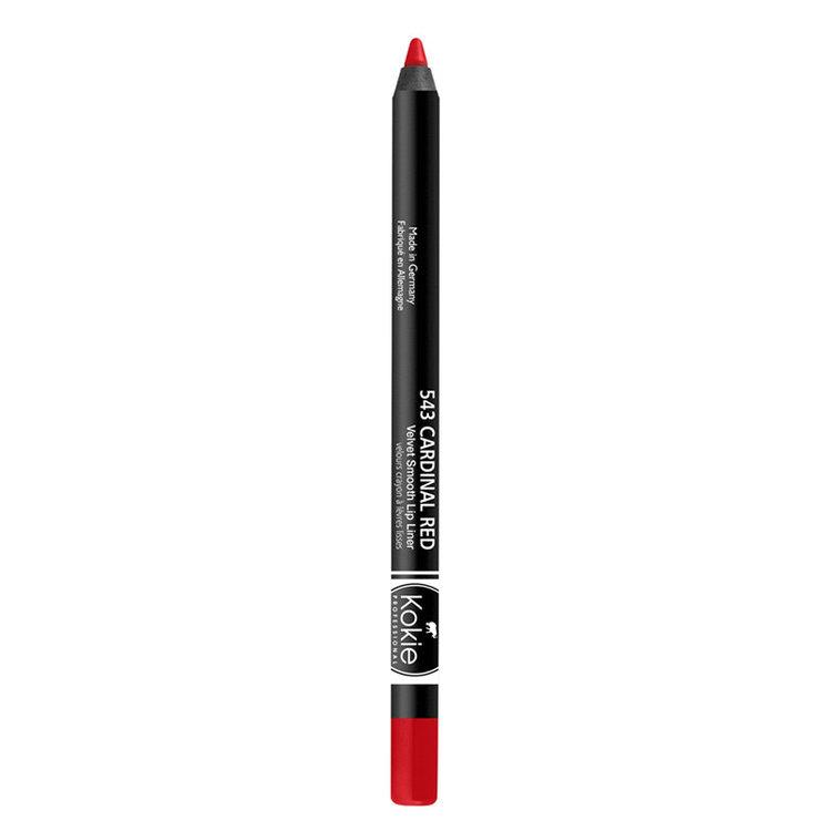 Kokie Velvet Smooth Lip Liner Cardinal Red
