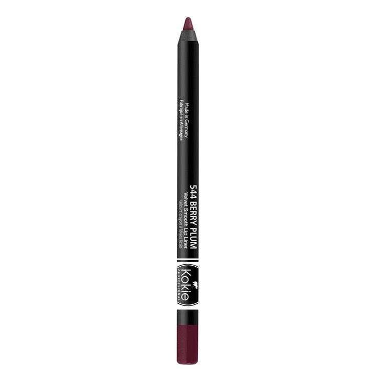 Kokie Velvet Smooth Lip Liner Berry Plum