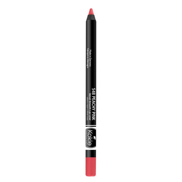 Kokie Velvet Smooth Lip Liner Peachy Pink