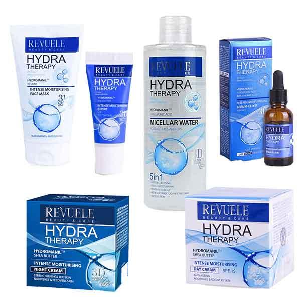 Set REVUELE Hydra Therapy