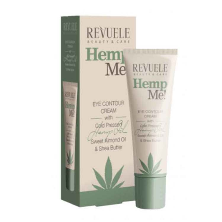 REVUELE Hemp Me! Eye contour cream With Hemp Seed Oil