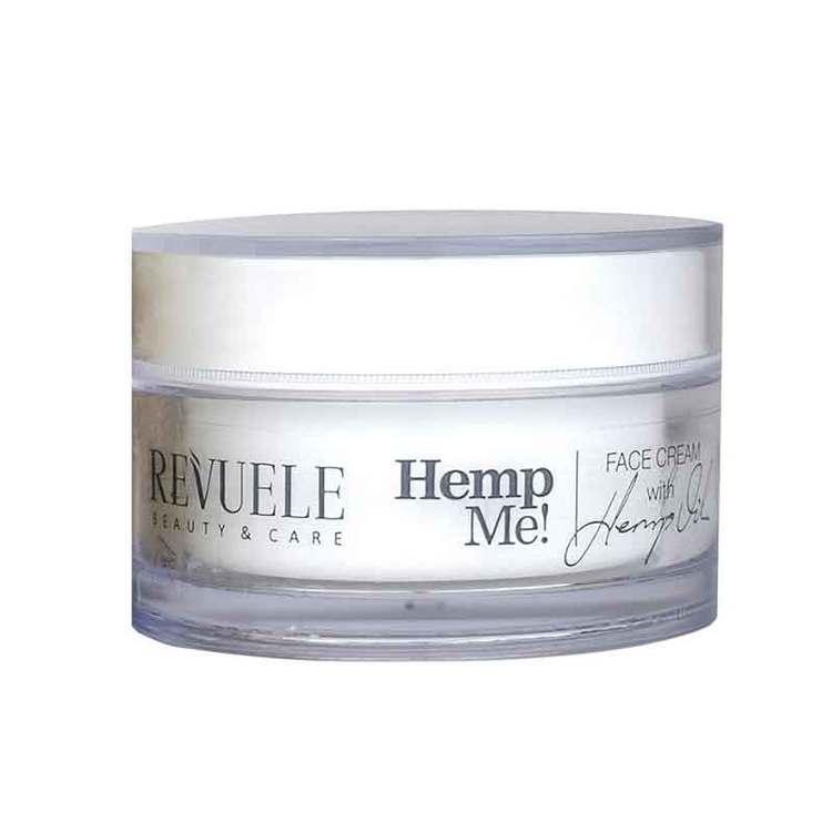 REVUELE Hemp Me Face Cream With Hemp Seed Oil