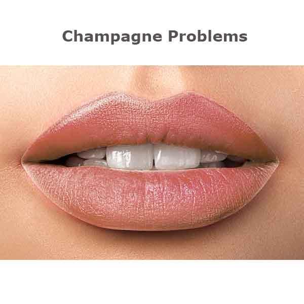 Kokie Kissable Matte Liquid Lipstick Champagne Problems