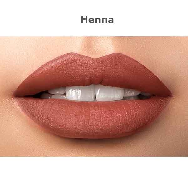 Kokie Kissable Matte Liquid Lipstick Henna
