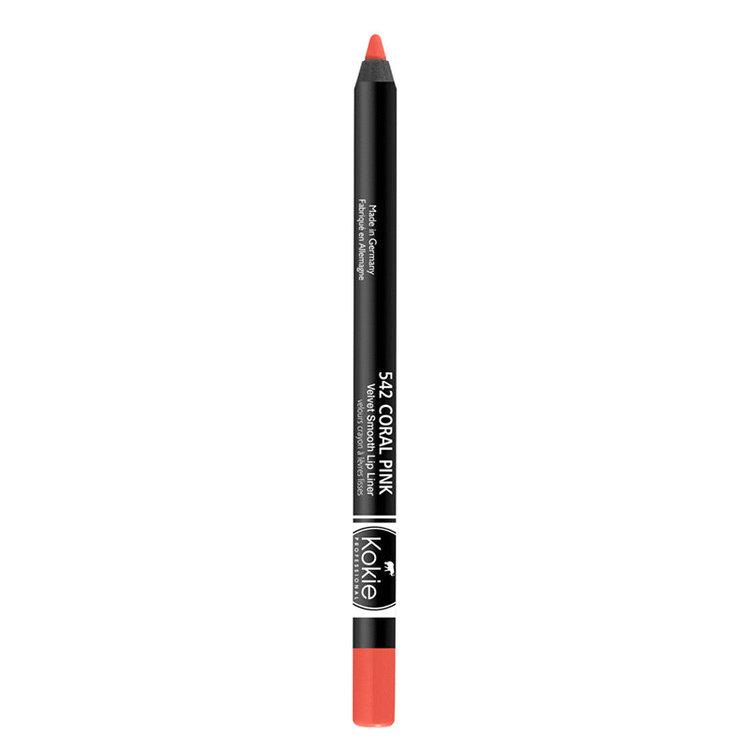 Kokie Velvet Smooth Lip Liner Coral Pink