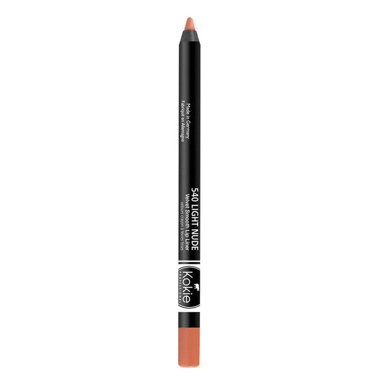 Kokie Velvet Smooth Lip Liner Light Nude