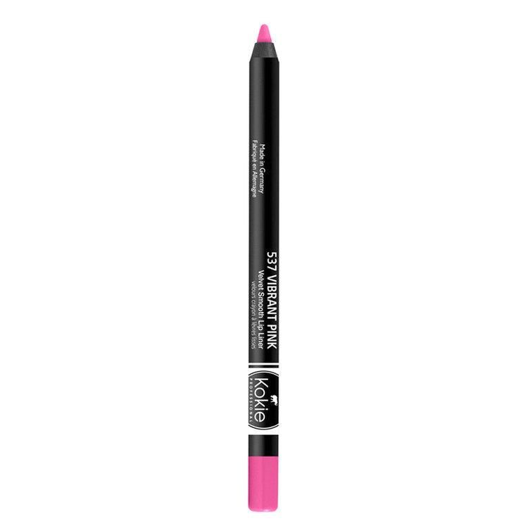 Kokie Velvet Smooth Lip Liner Vibrant Pink