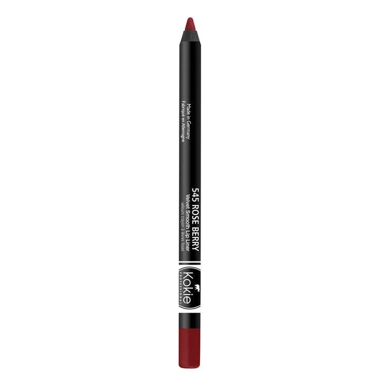 Kokie Velvet Smooth Lip Liner Rose Berry