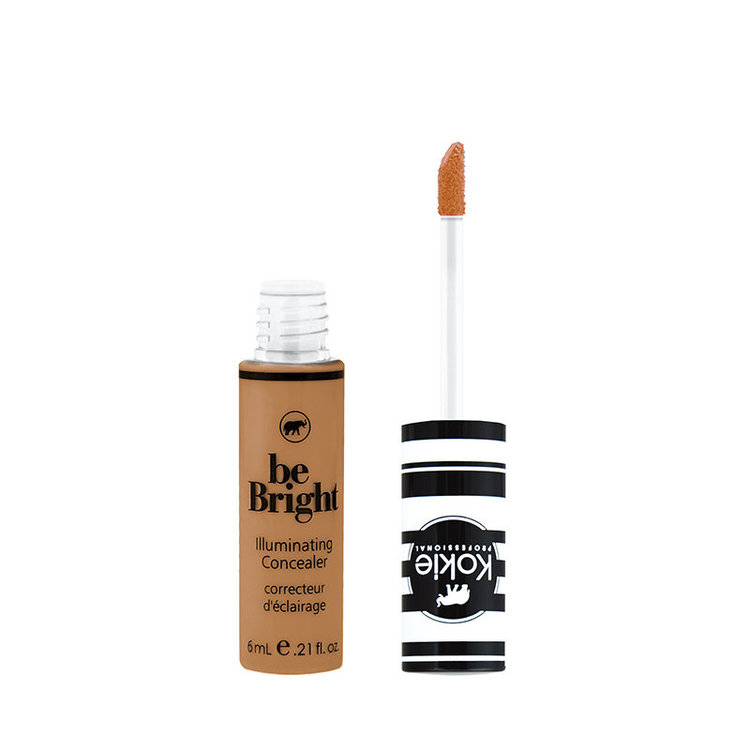 Kokie Be Bright Illuminating Concealer Deep Tan