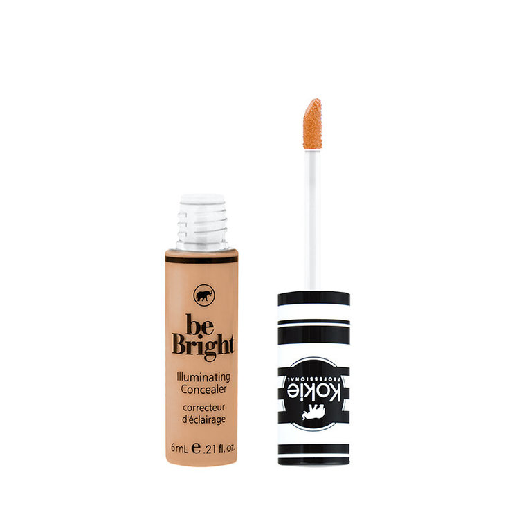 Kokie Be Bright Illuminating Concealer Golden Tan