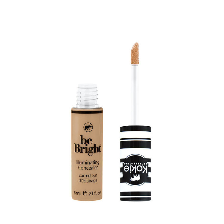 Kokie Be Bright Illuminating Concealer Golden Beige