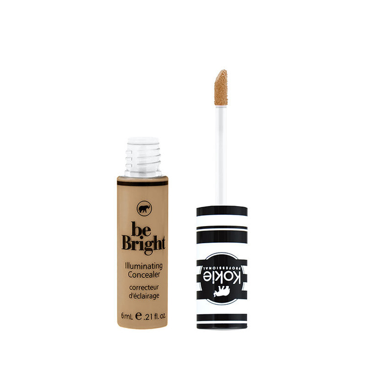 Kokie Be Bright Illuminating Concealer  Honey