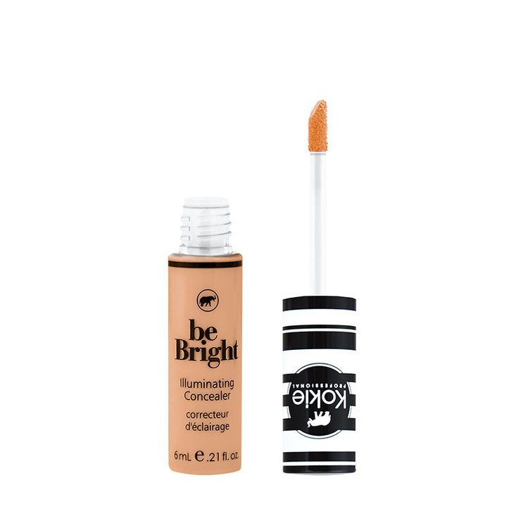 Kokie Be Bright Illuminating Concealer Medium Tan