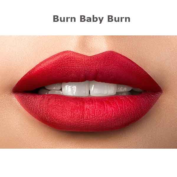 Kokie Matte Lipstick Burn Baby Burn