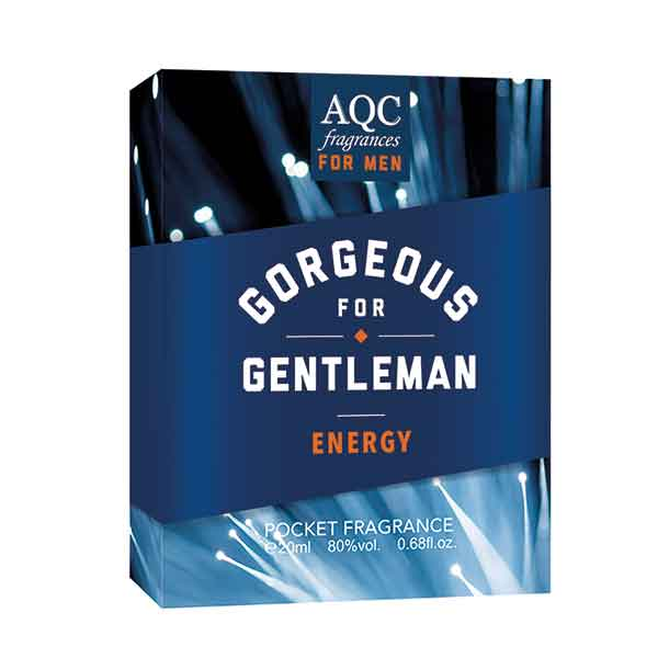 AQC Fragrances Gorgeous For Gentleman Energy Pocket