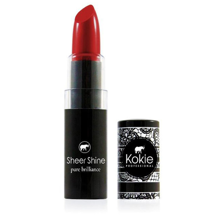 Kokie Sheer Shine Lipstick All Rosy