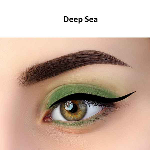 Kokie Duo Metallic Eyeshadow Deep Sea